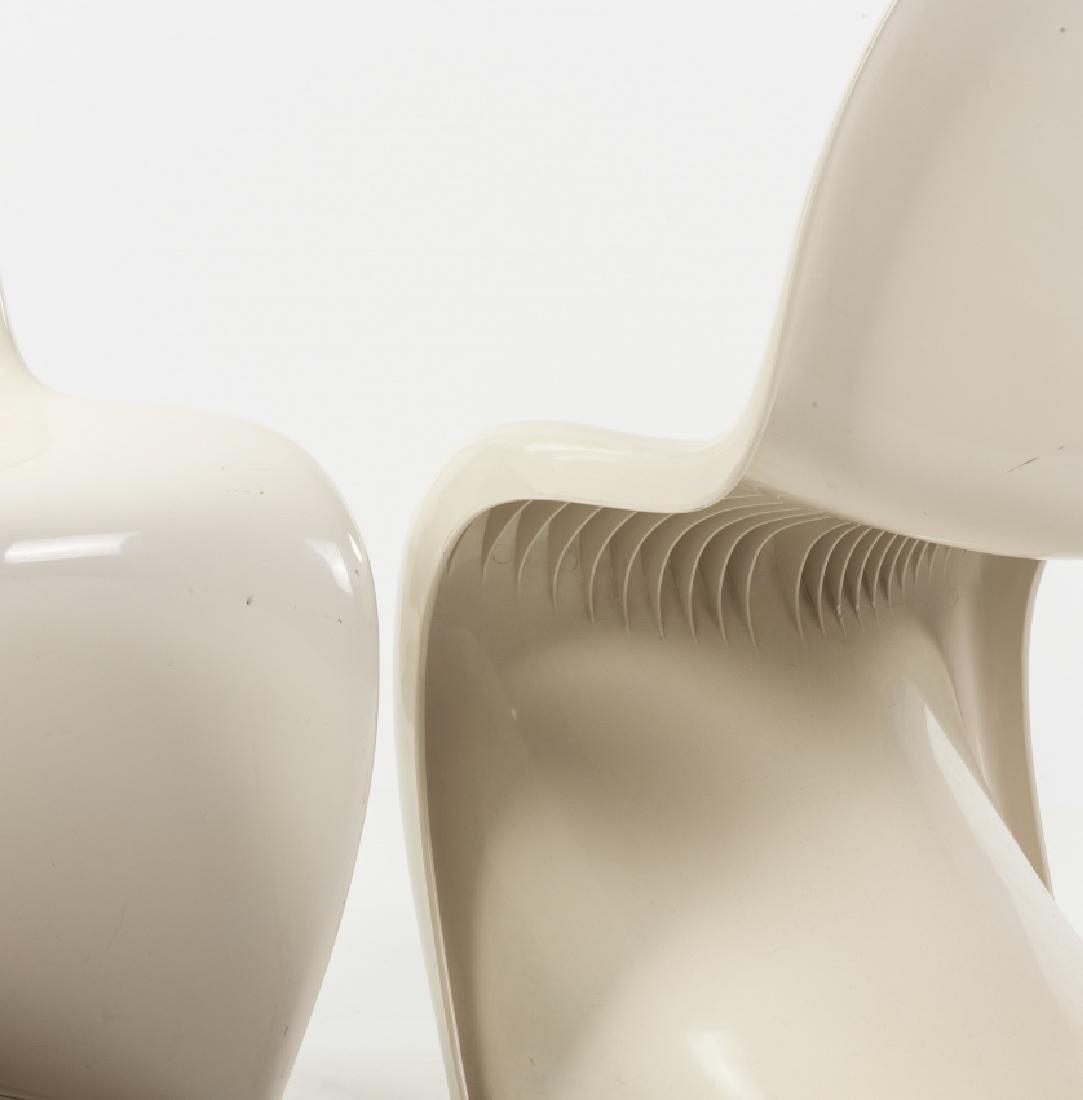 """Verner Panton, Pair of  """"Panton"""" chairs, Moulded - 2"""