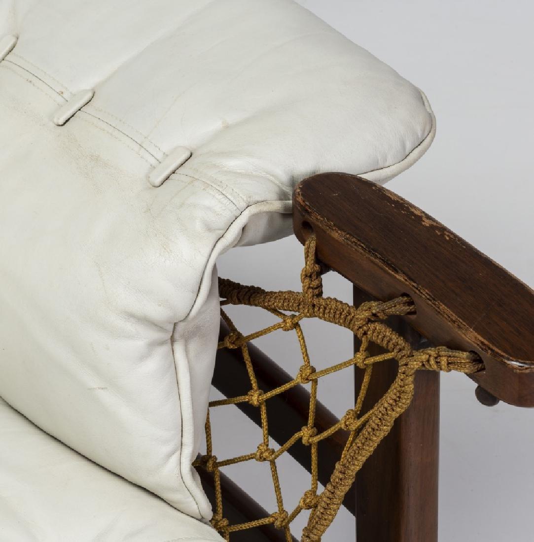 "Jean Gillon, ""Captain's"" armchair with ottoman, - 2"