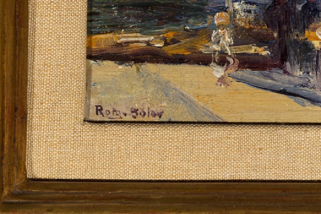Joan Roig Soler, Sea scene, Oil on canvas - 2
