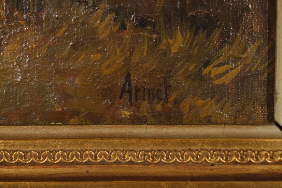 Josep Armet, Landscape, Oil on canvas - 2
