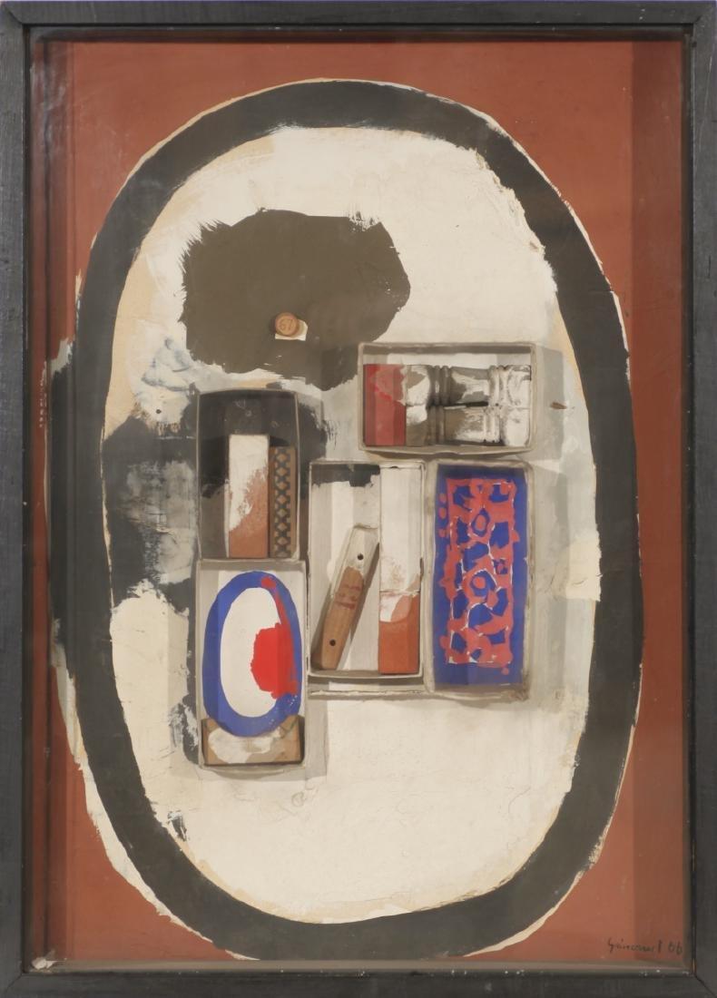 "Josep Guinovart, ""Petit homenatge al cubisme"", Collage - 2"