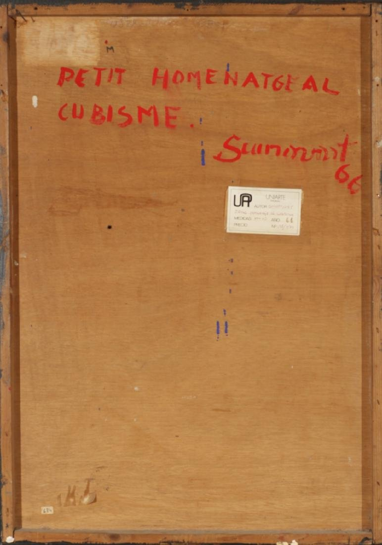 "Josep Guinovart, ""Petit homenatge al cubisme"", Collage - 4"