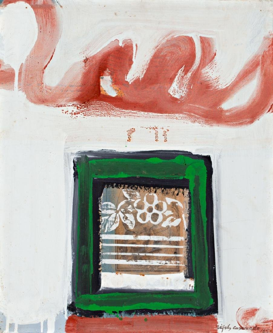 Albert Ràfols Casamada, Untitled, Oil on canvas