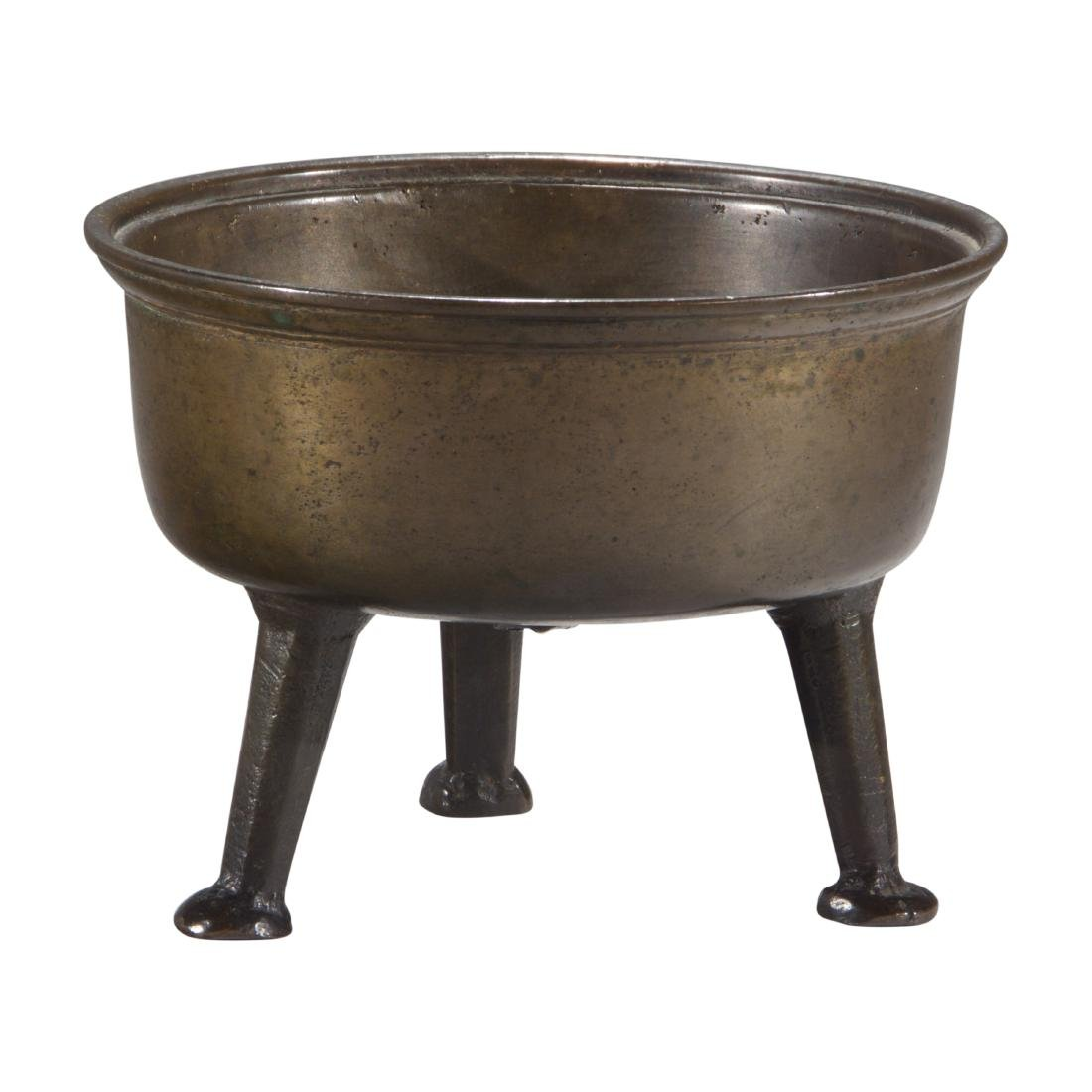 Bronze Tripod Pot