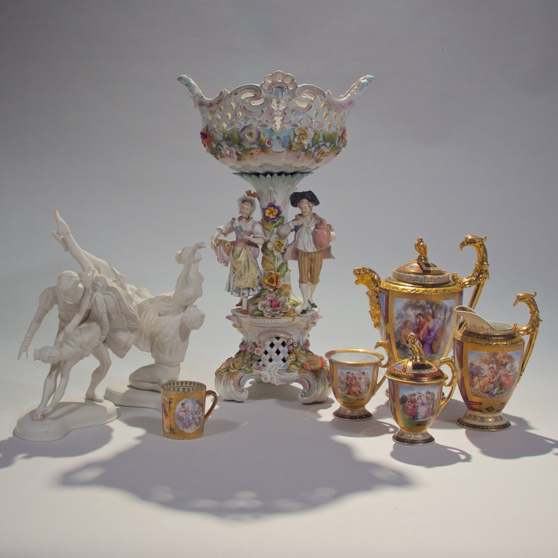 Grouping of Porcelain Objects