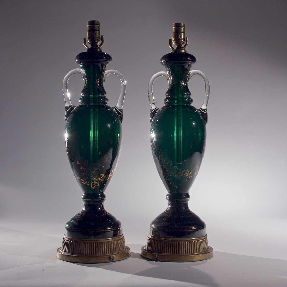 Pair of Venetian Lamps