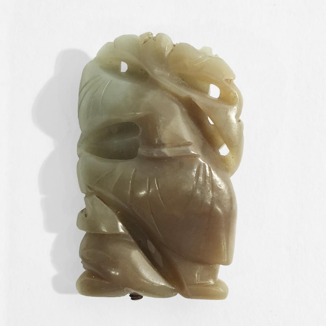Chinese Jade Boy Figure. - 2