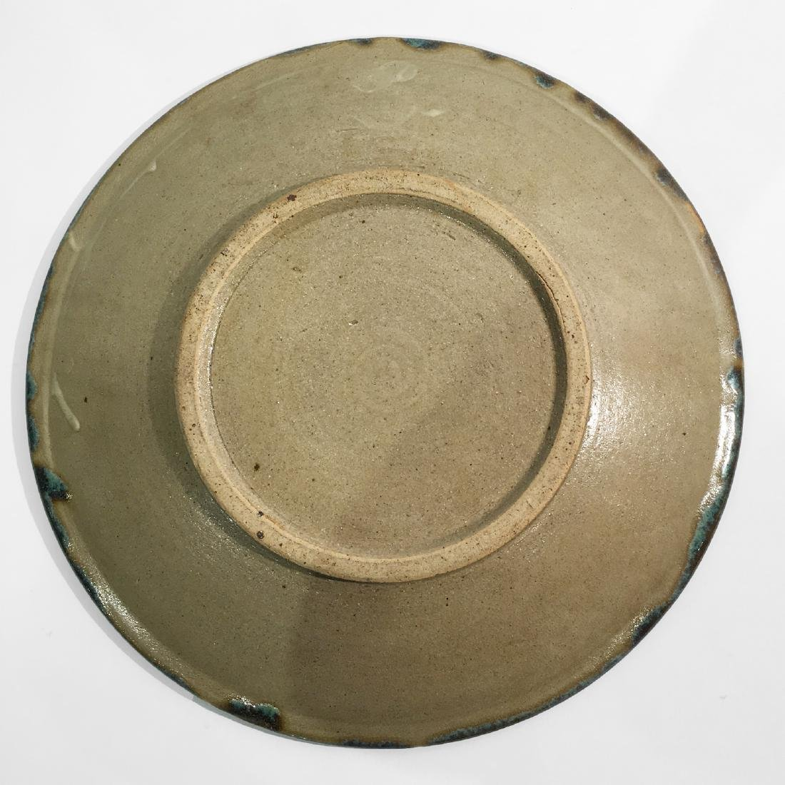 Large Japanese Pottery Charger, 1960s - 2
