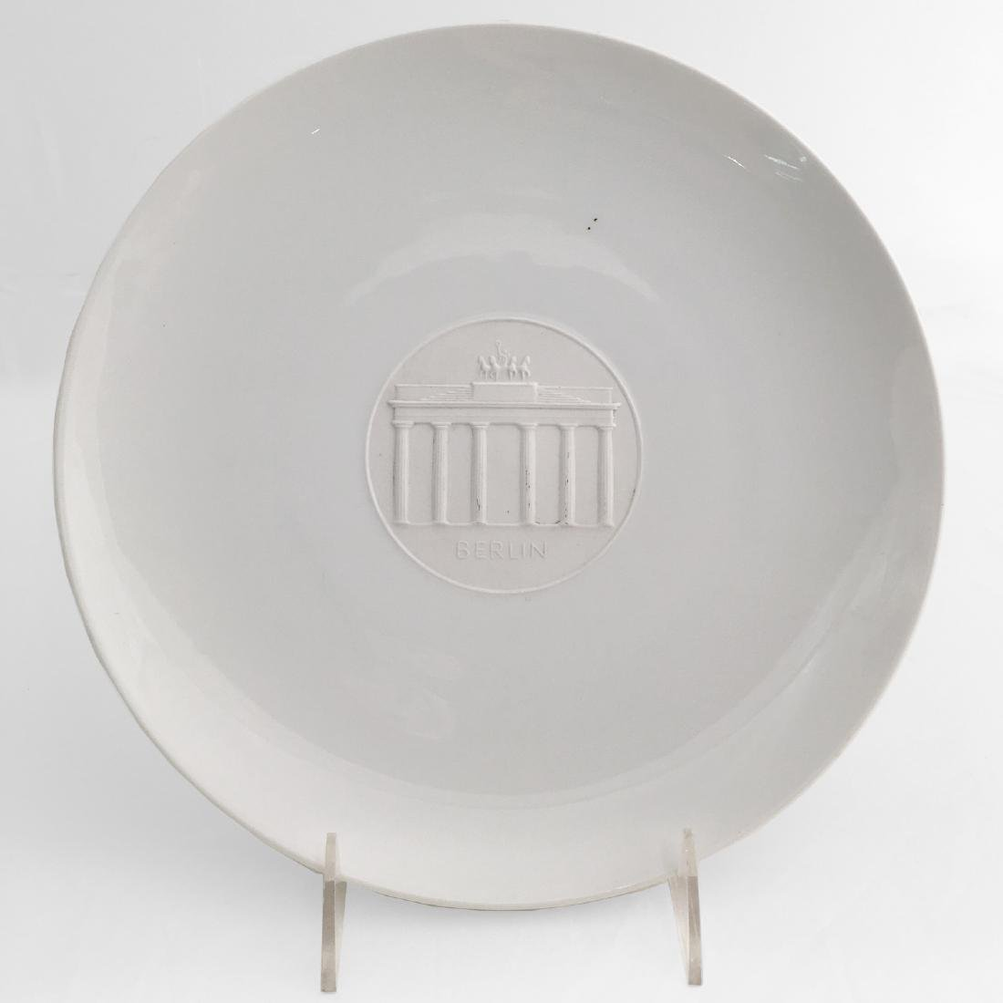 KPM Porcelain Plate Commemorating Berlin