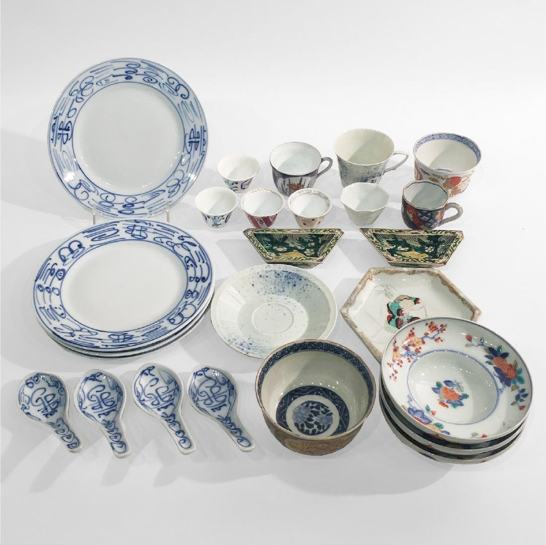 Mixed Lot of Asia Porcelain