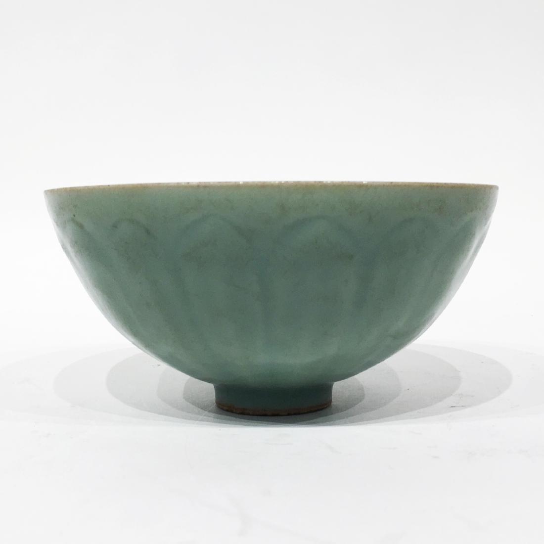 A Chinese Celadon Lung-chuan Bowl