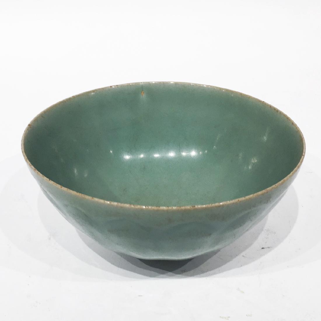 A Chinese Celadon Lung-chuan Bowl - 2
