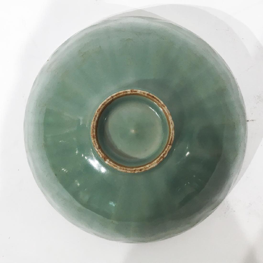 A Chinese Celadon Lung-chuan Bowl - 3