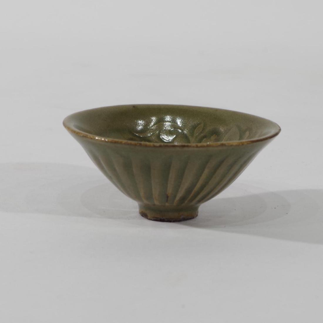Small Chinese Celadon Glazed Cup