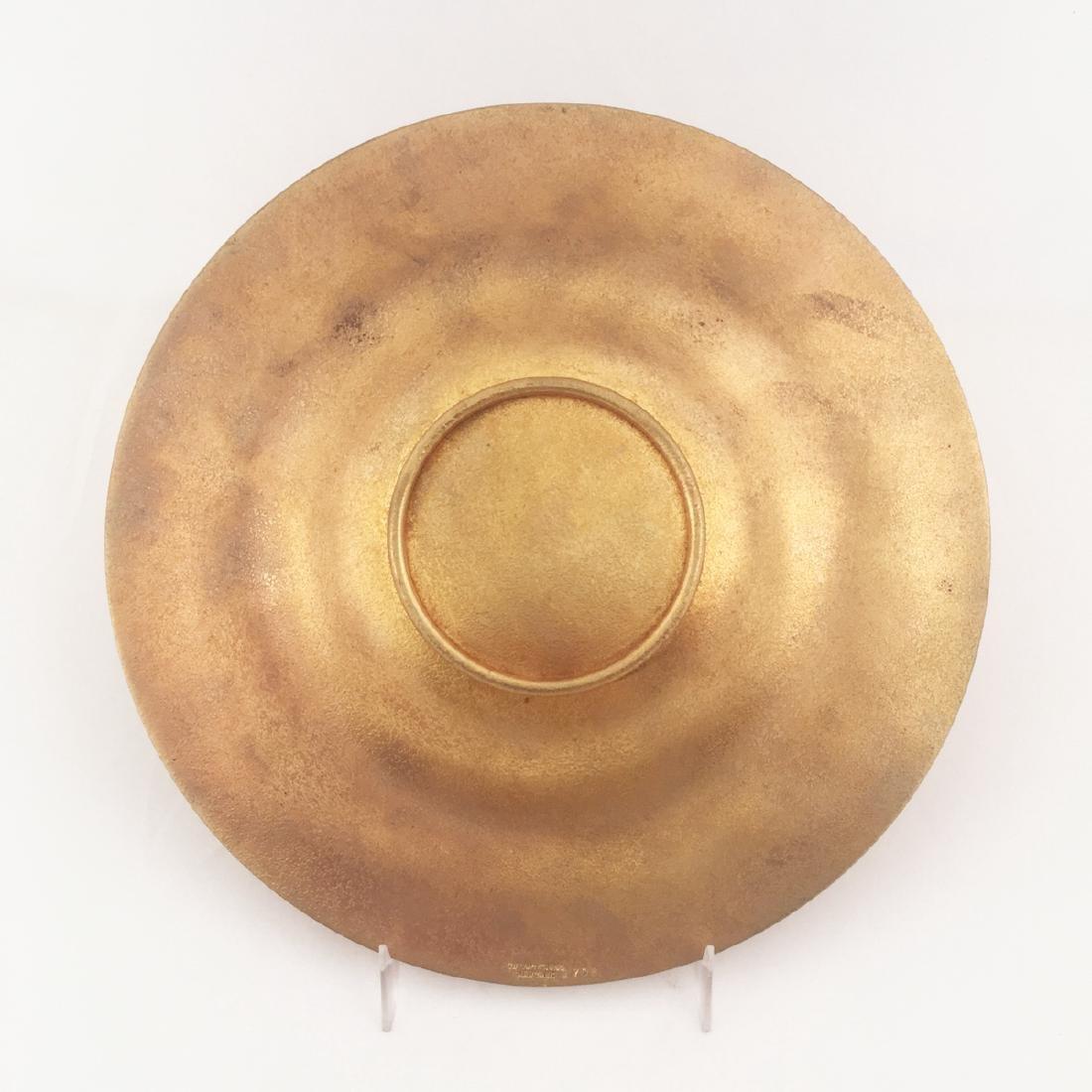 Tiffany Studios Gilt Bronze Utility Tray - 2