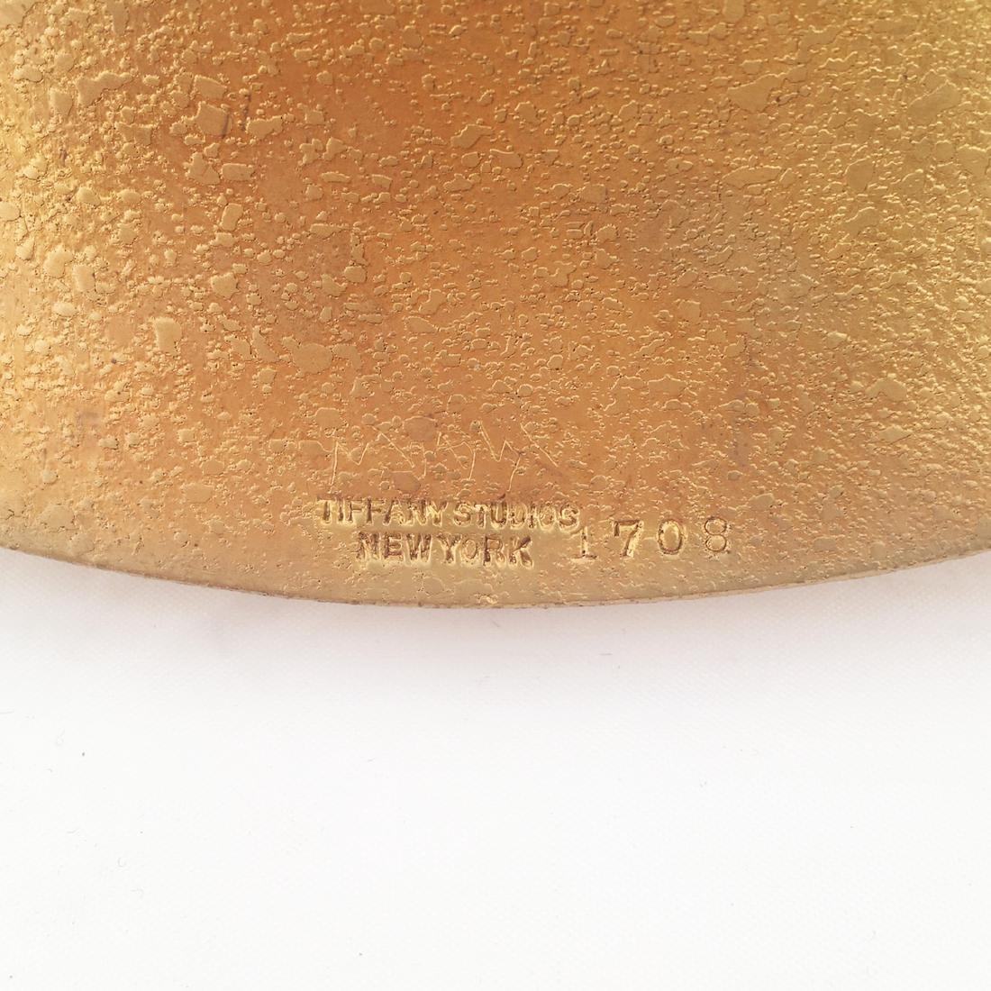 Tiffany Studios Gilt Bronze Utility Tray - 3
