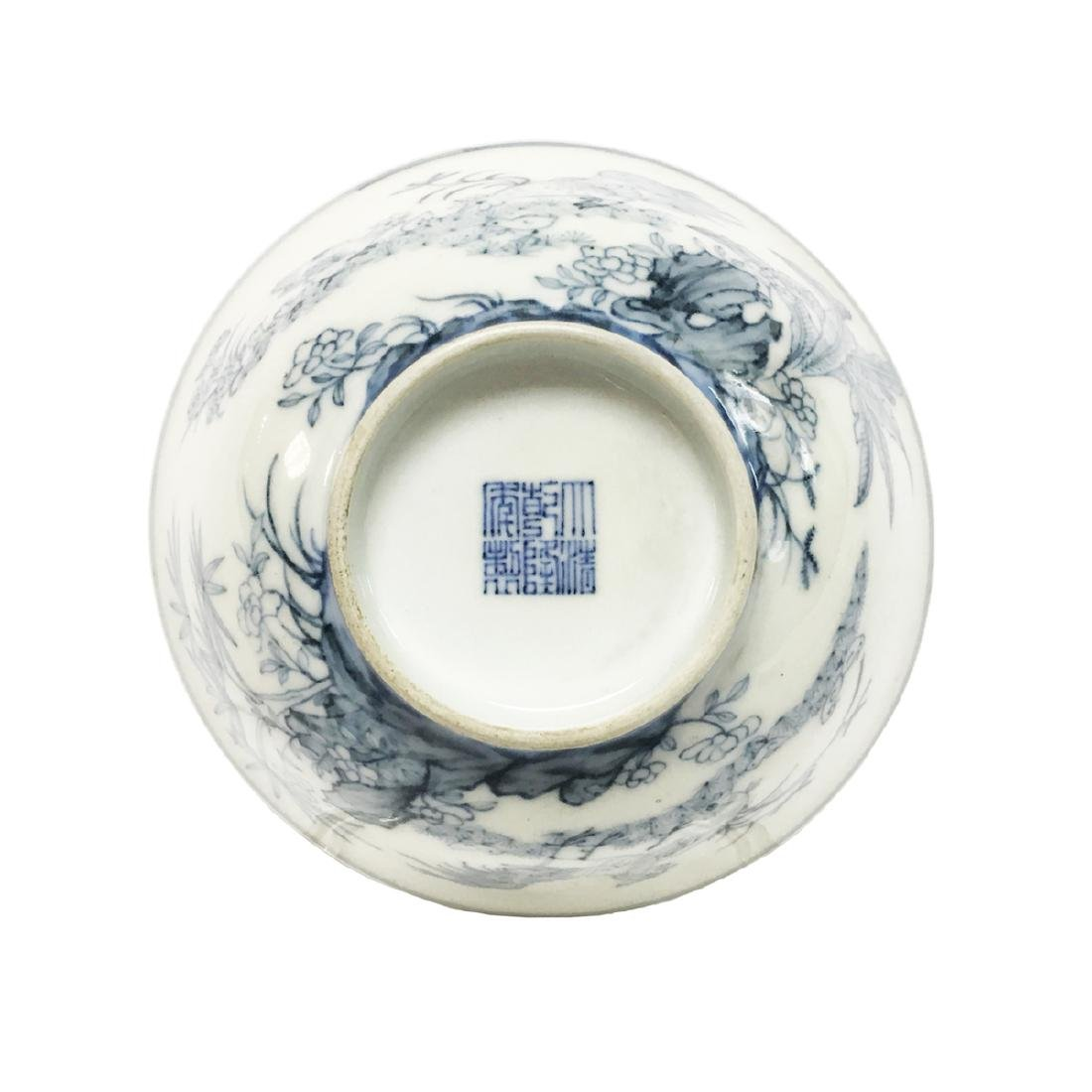 Chinese Porcelain Blue and White Bowl - 3