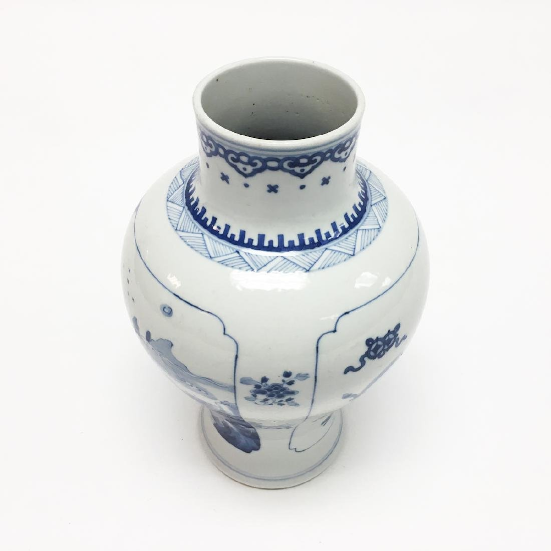 Chinese Porcelain Blue and White Vase - 3