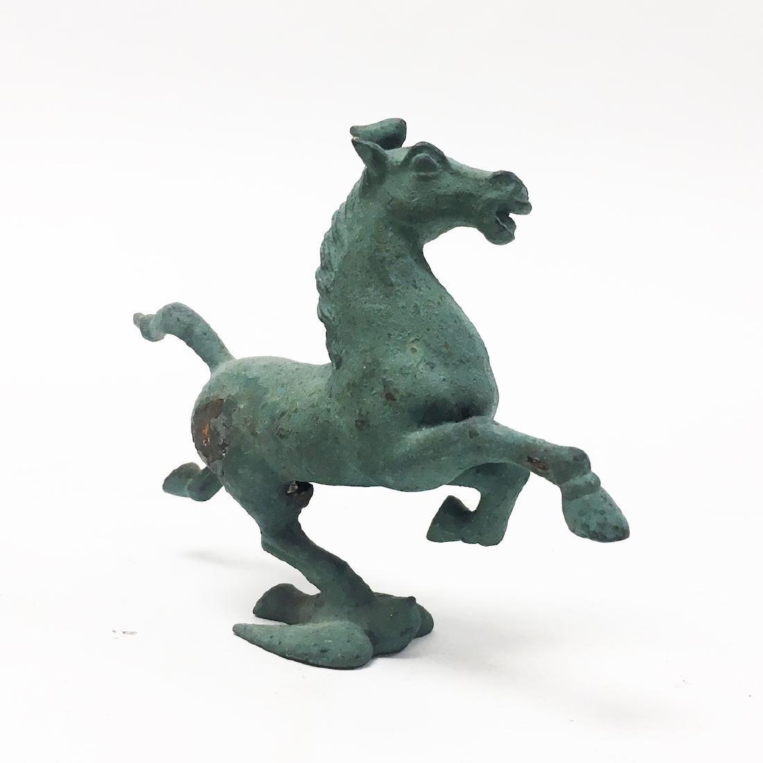 20th Century Bronze Horse - 2