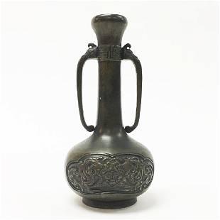 Chinese 19th Century Bronze Vase