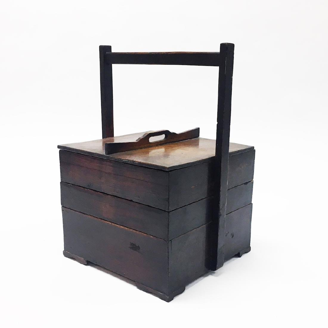 Japanese 19th Century Food Delivery Box