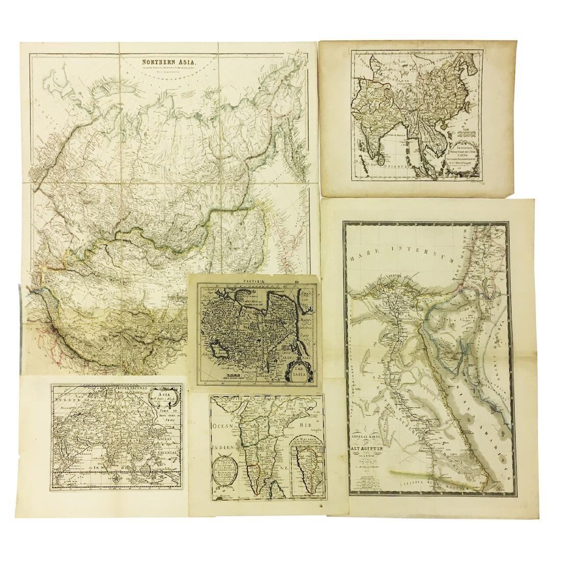 Six Maps of Asia