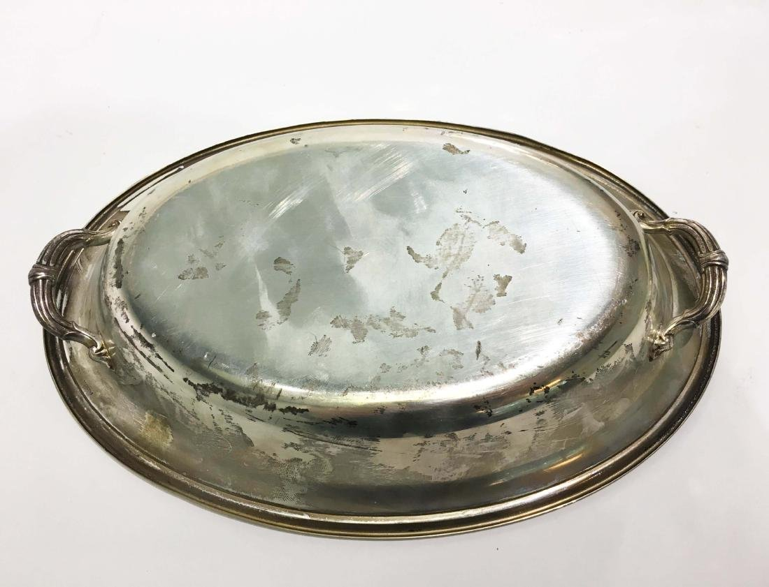 Three Silver Platters of Various Makers - 4
