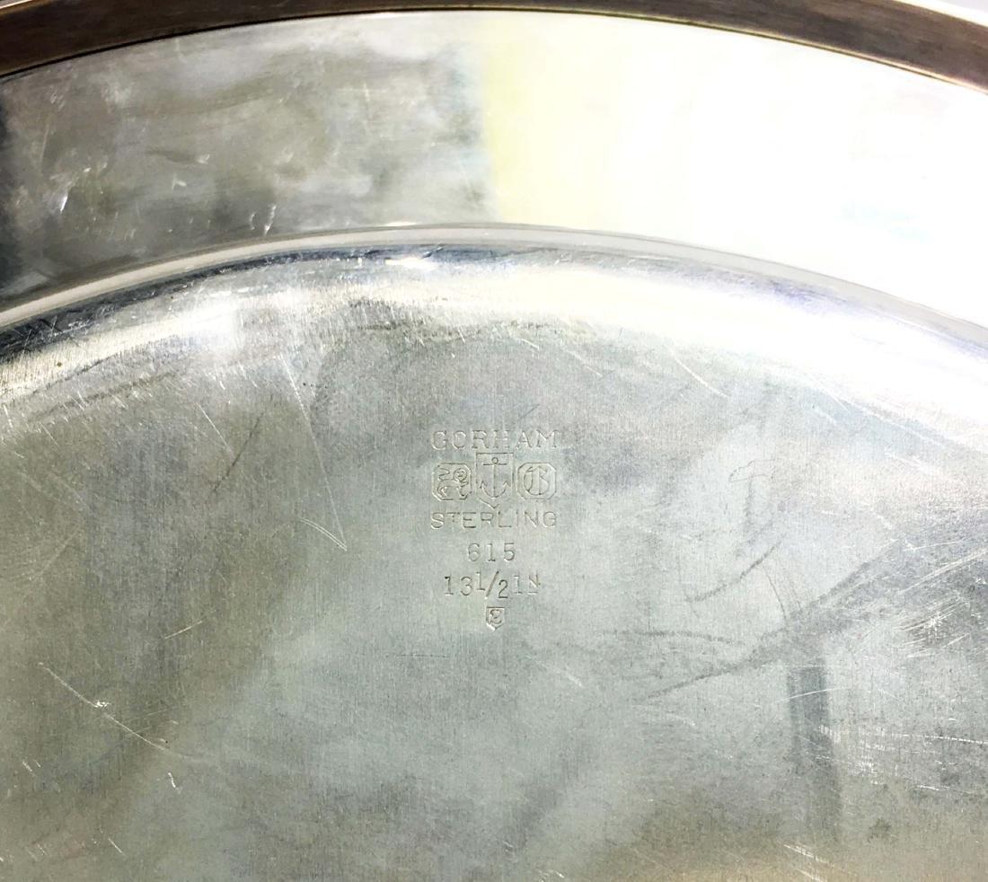 Gorham Sterling Silver Platters & Gravy Boat - 2