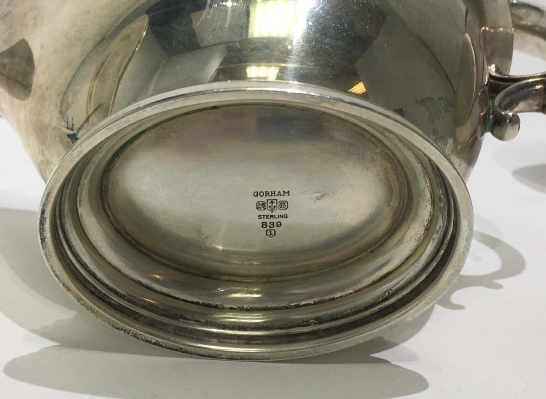 Gorham Sterling Silver Platters & Gravy Boat - 3