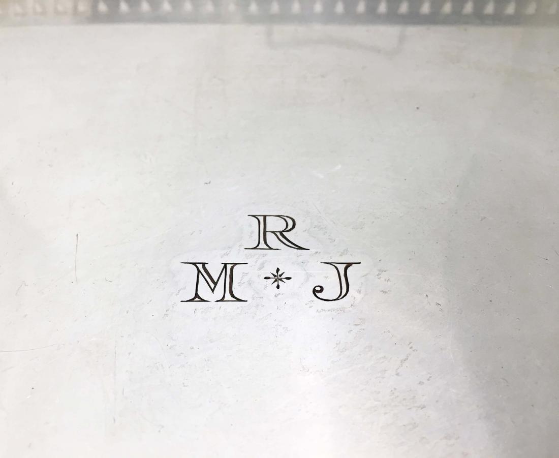 Israel Freeman & Son Tray with Rothschild Monogram - 2