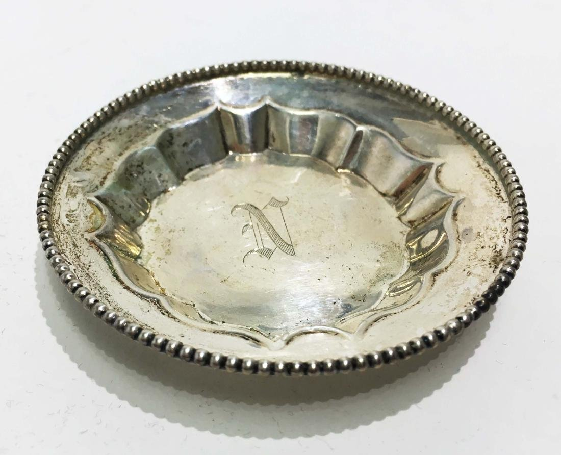 Sterling Silver Table Salt Dishes and Spoons - 3