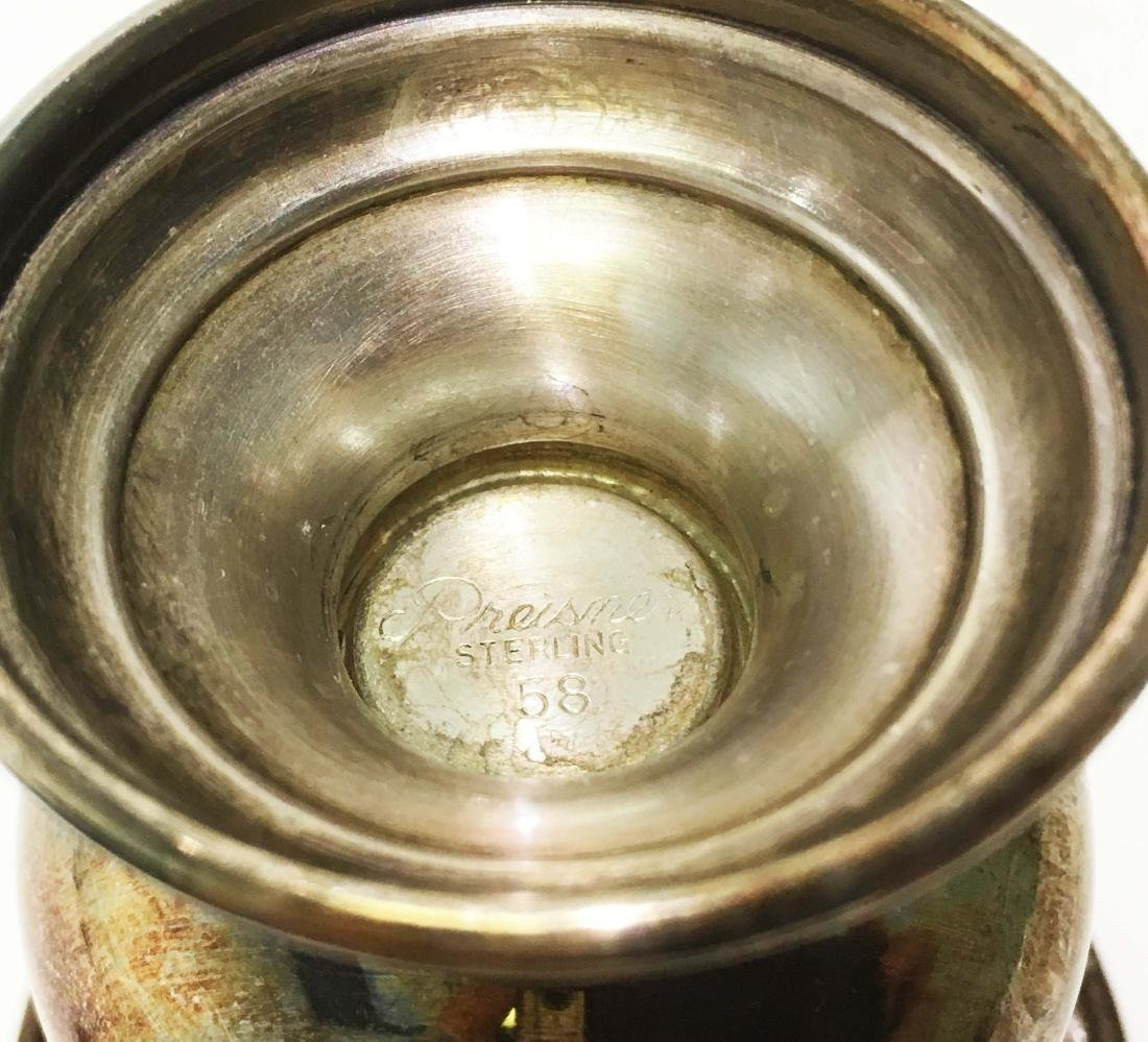 Sterling Silver Kiddish Cups and Tankard - 2