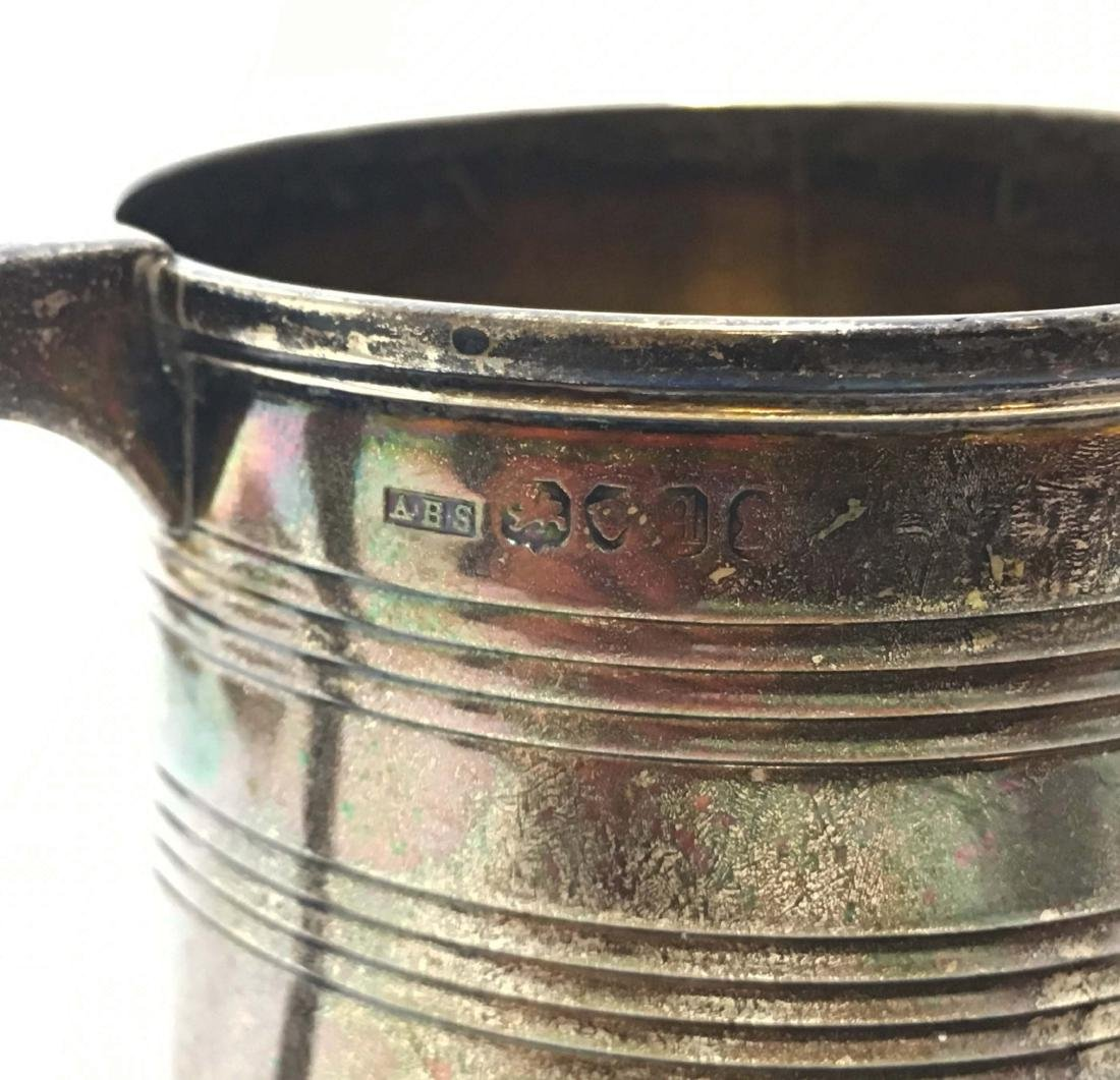Sterling Silver Kiddish Cups and Tankard - 3