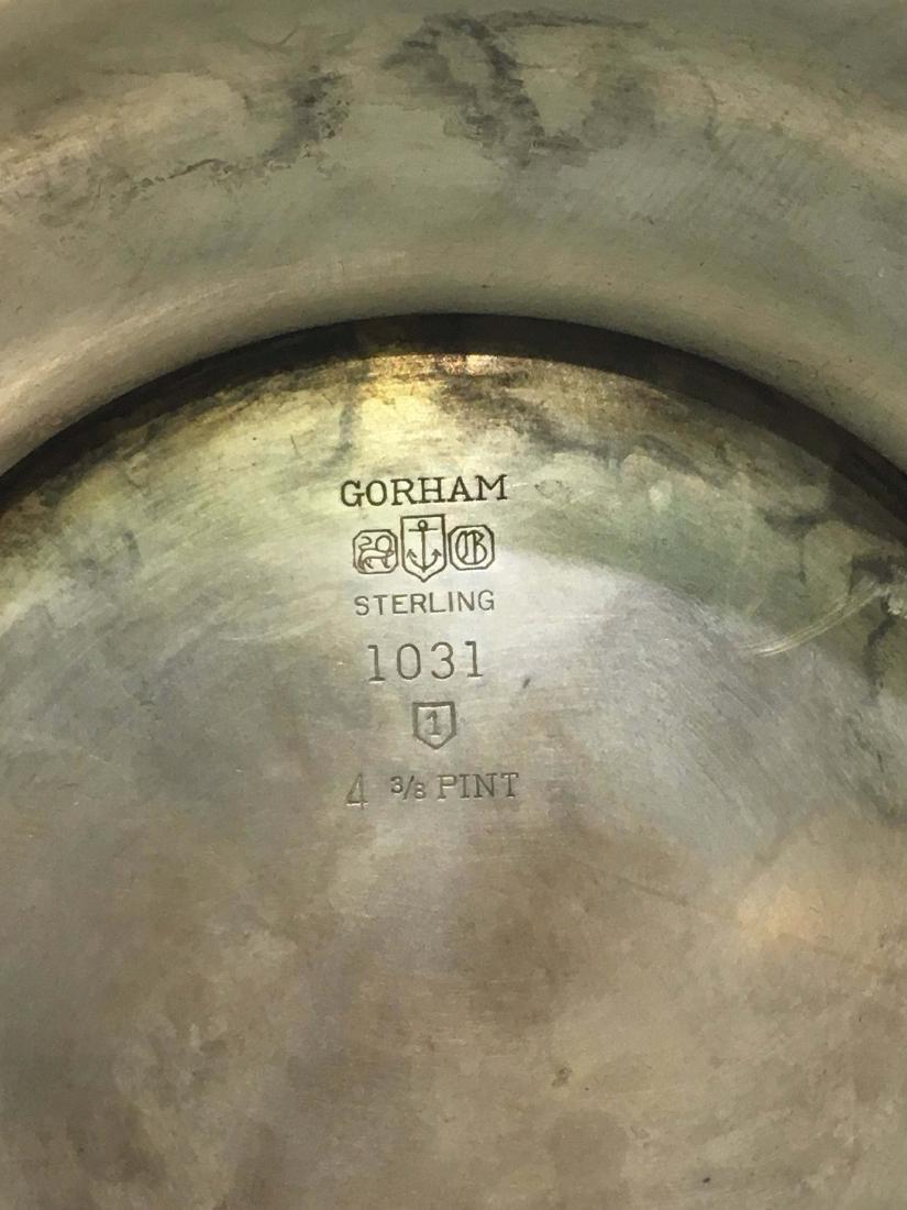 A Gorham Monogrammed Sterling Silver Pitcher - 2
