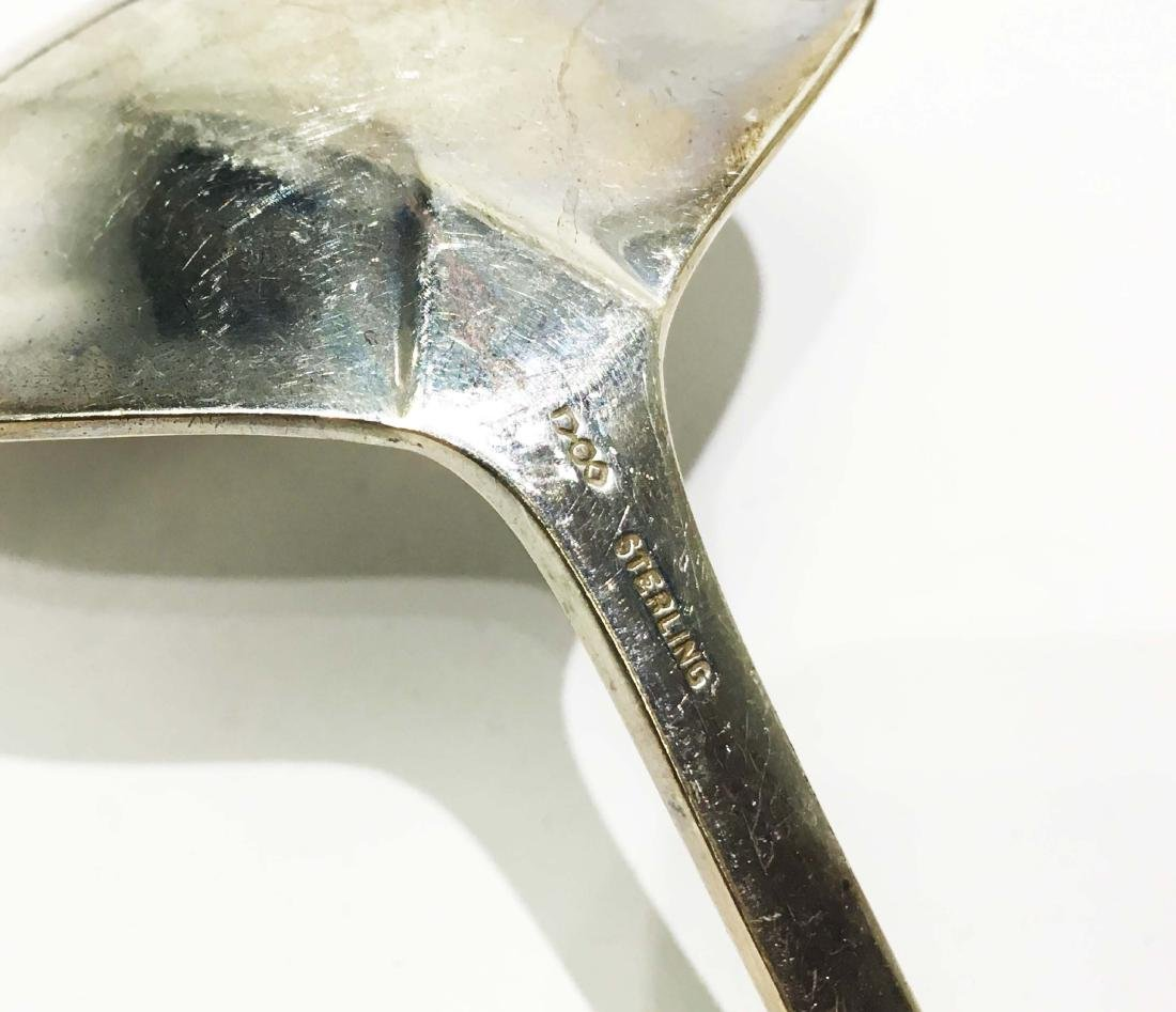 A Group of Sterling Silver Utensils - 5