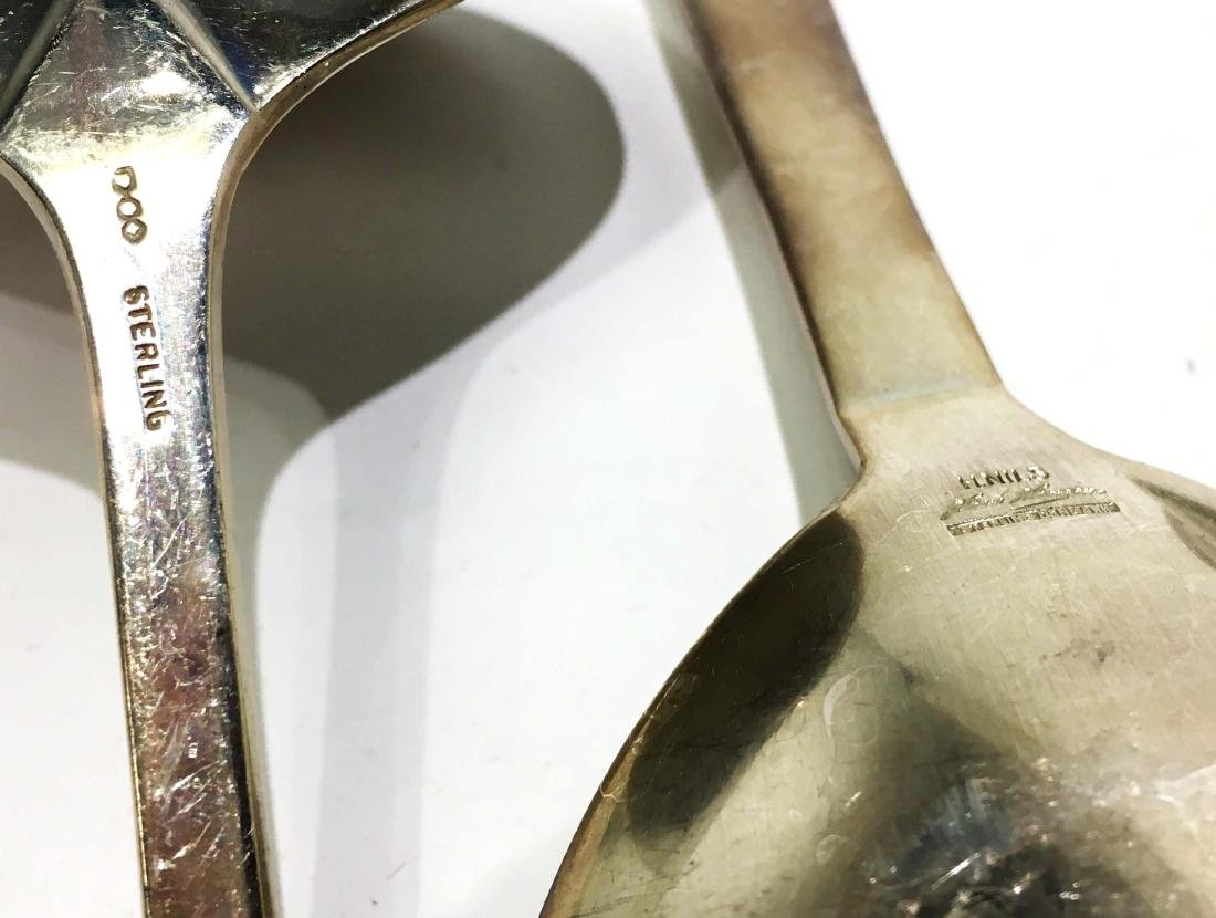 A Group of Sterling Silver Utensils - 6
