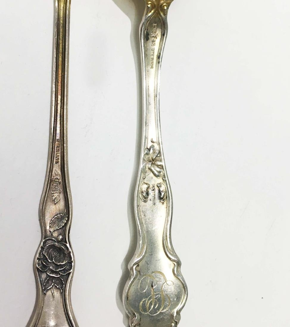 4 Sets of Sterling Silver Spoons and Forks - 5