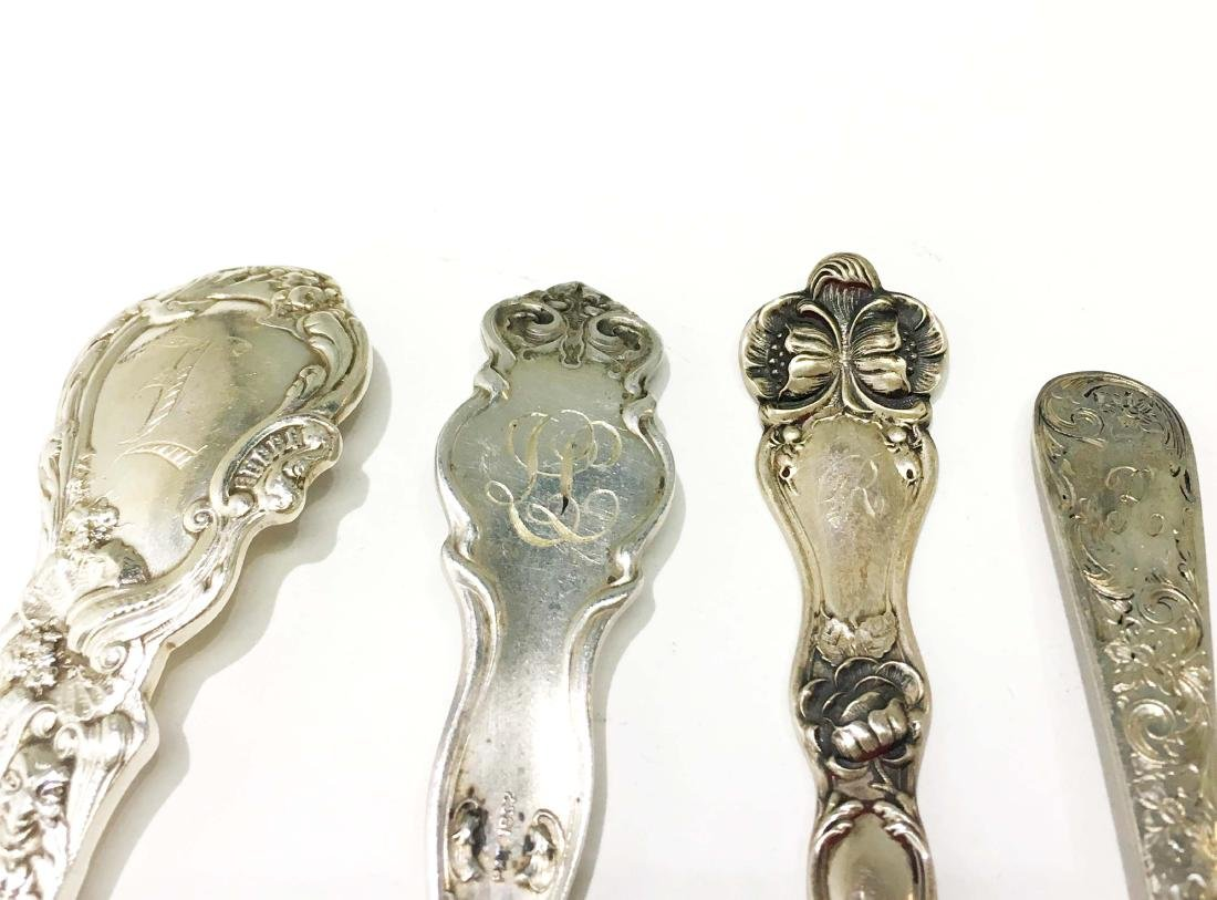 4 Sets of Sterling Silver Spoons and Forks - 6