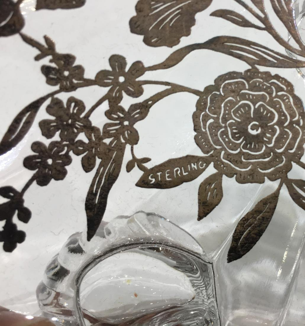 Two Silver Overlay Dishes - 3