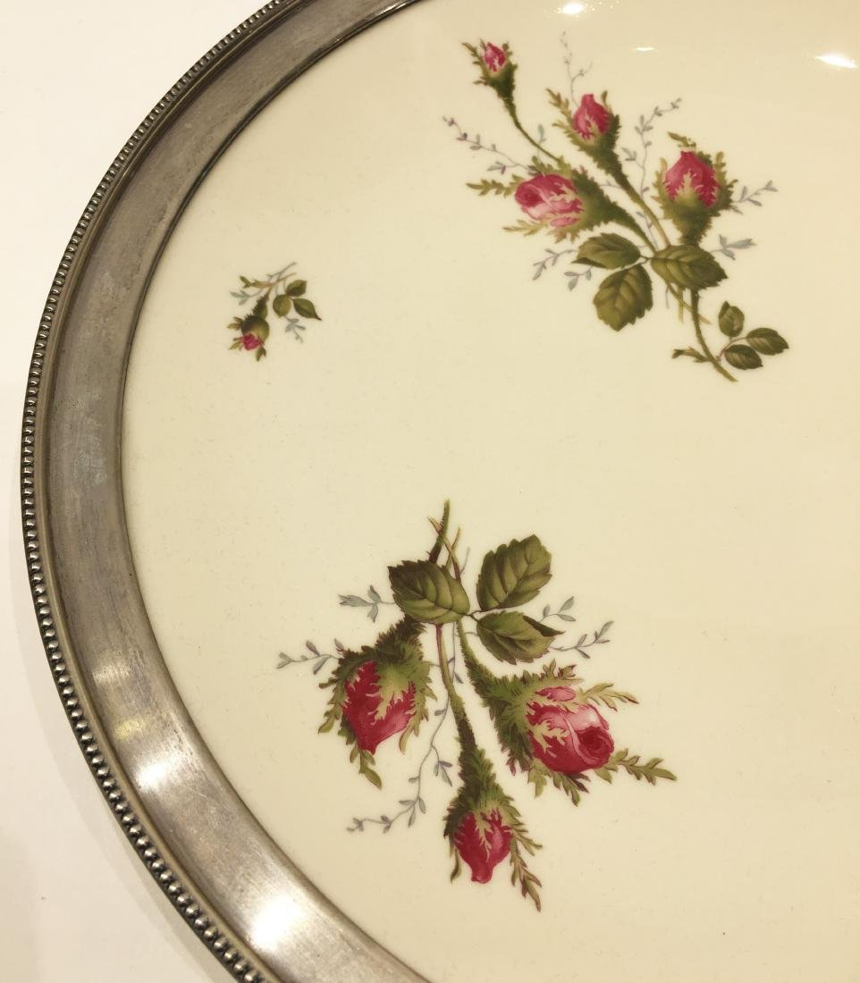 Two Silver Overlay Dishes - 4