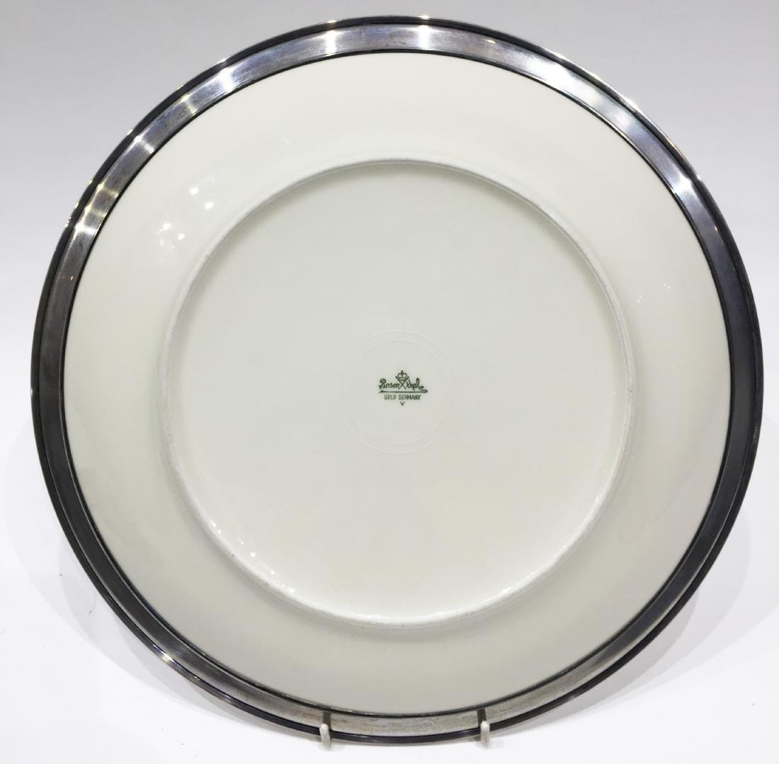 Two Silver Overlay Dishes - 6
