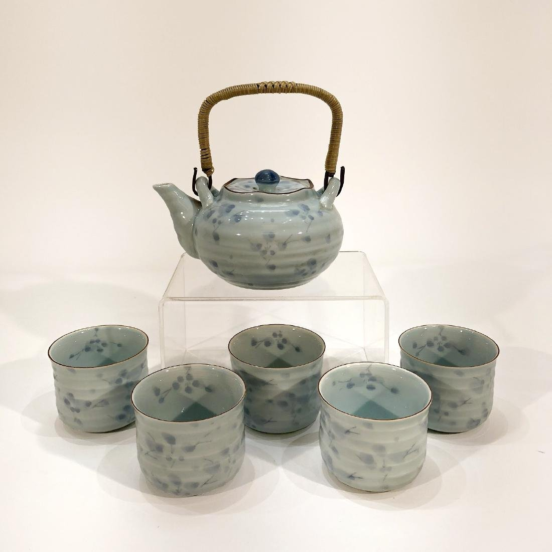Japanese Tea Kettle & Cup Set