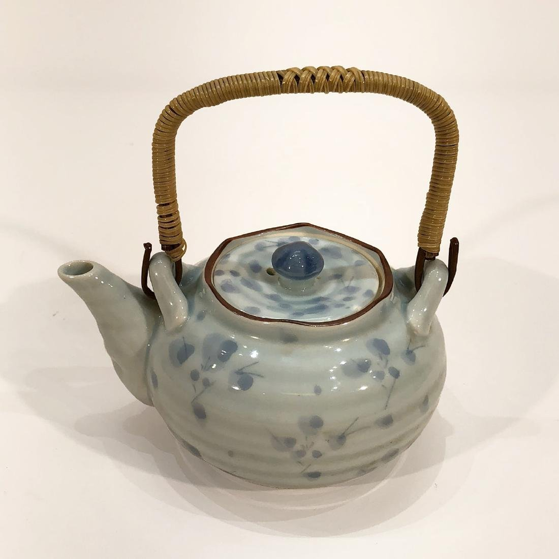 Japanese Tea Kettle & Cup Set - 2