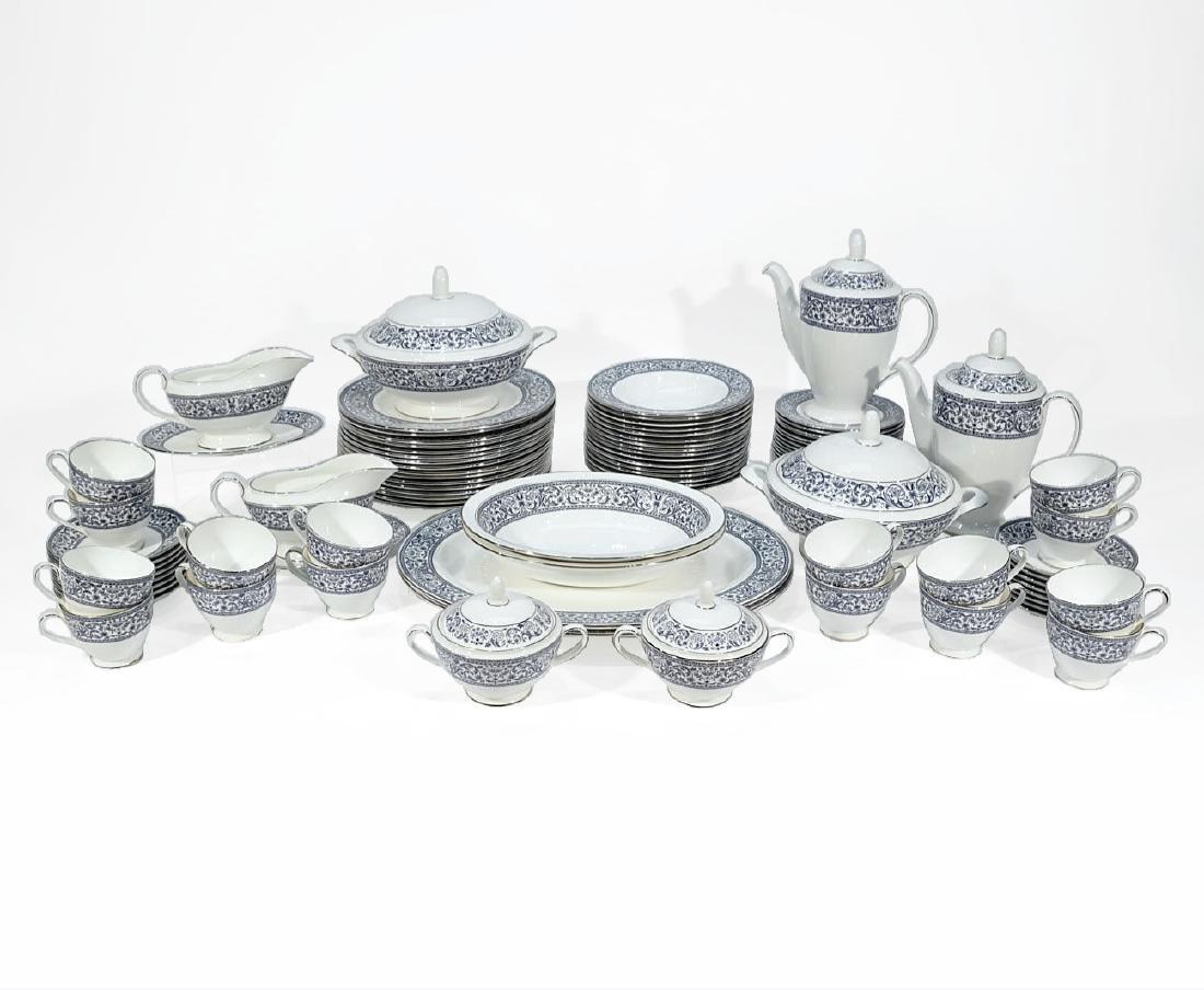 Set of Minton Porcelain Dinner Service (93 pieces)
