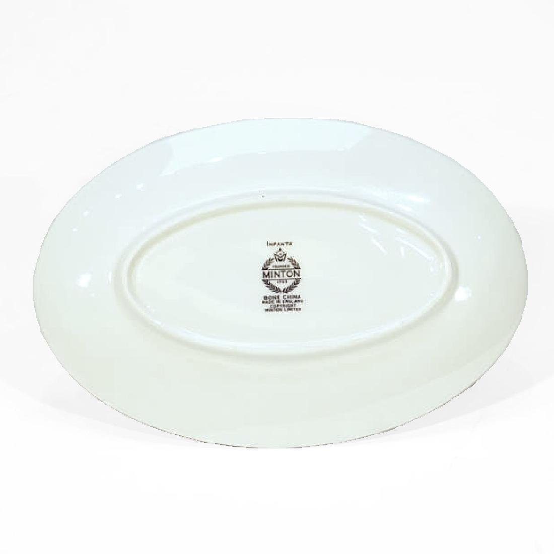 Set of Minton Porcelain Dinner Service (93 pieces) - 3