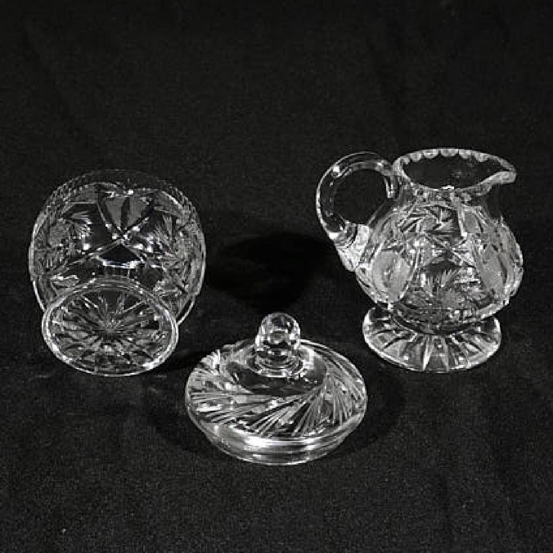 Five Pieces of Cut Crystal - 3