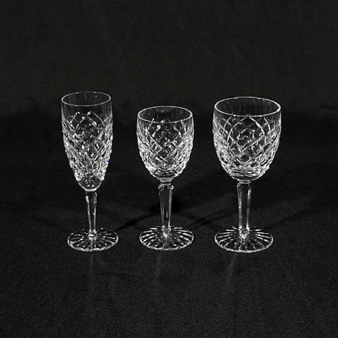 18-Piece Set of Waterford Cut Crystal Glasses - 2