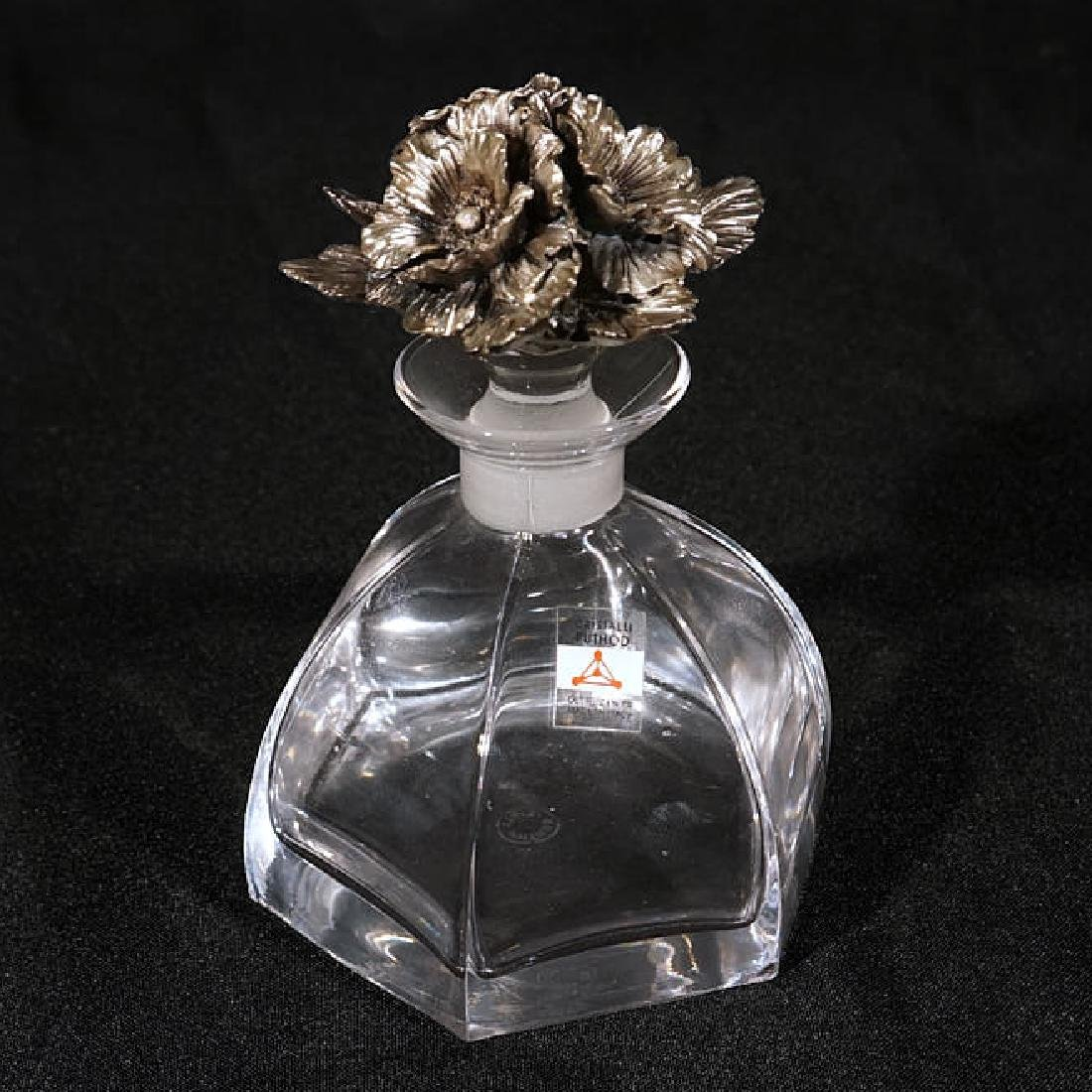Five Glass/Crystal Perfume Bottles - 4