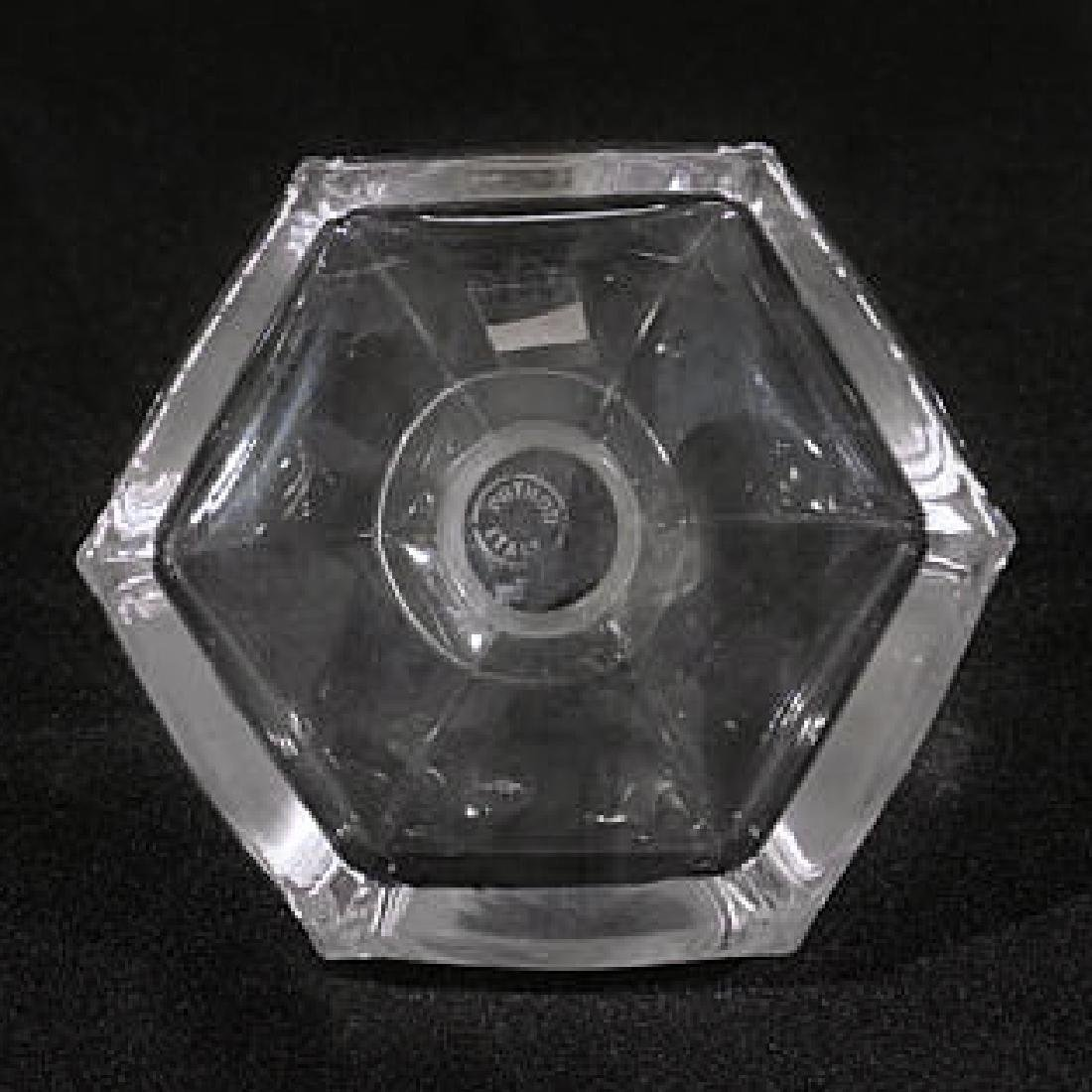 Five Glass/Crystal Perfume Bottles - 5
