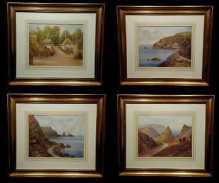 Four Framed Daniel Sherrin Prints